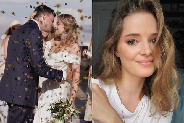 """Erika Karkuszewska wyszła za mąż! Pochwaliła się zdjęciem z ceremonii: """"Wybrałabym Cię za sto wcieleń, na stu światach"""""""