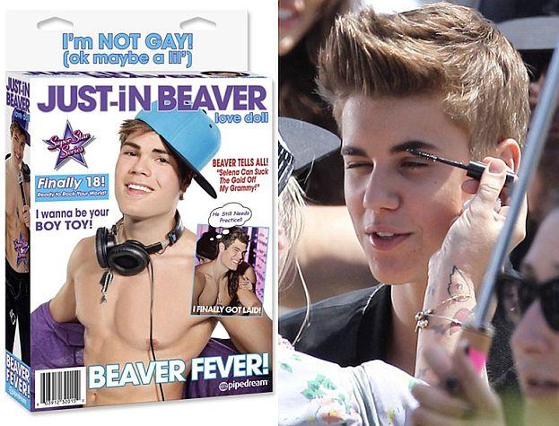 Justin Bieber jako... SEKS-LALKA! Podobna?