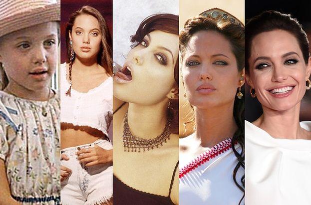 Angelina Jolie skończyła... 40 lat! (DUŻO ZDJĘĆ)