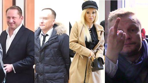 Gwiazdy w sądach w 2016: Uśmiechnięty Durczok, Dariusz K. i Doda z Szulim...