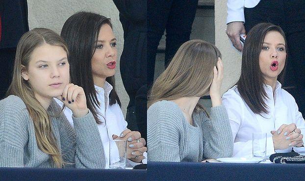 Kinga Rusin z córką na zawodach konnych (ZDJĘCIA)
