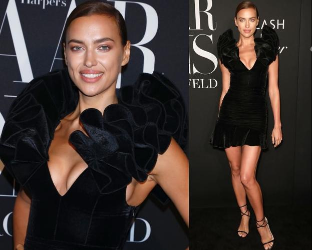 """Irina Shayk przyszła na imprezę """"Harper's Bazaar"""" w ubraniach z popularnej sieciówki. Zgadlibyście, ile kosztowała ta stylizacja?"""