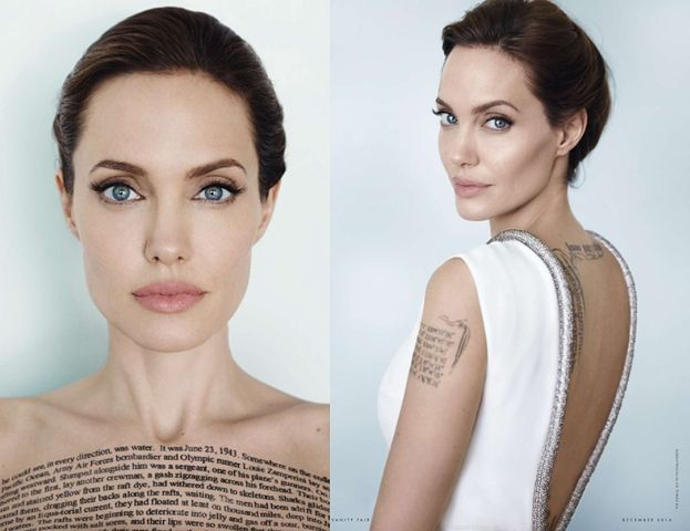 Angelina Jolie w obiektywie Mario Testino!