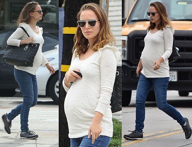 """Natalie Portman z coraz większym brzuszkiem. """"Lada dzień urodzi"""" (FOTO)"""