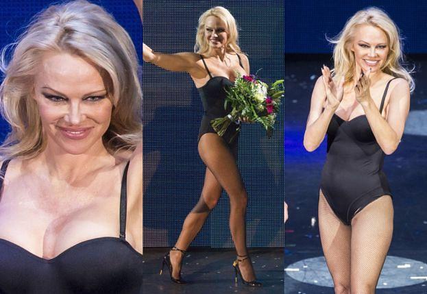 50-letnia Pamela Anderson chwali się ciałem w skąpym body! (ZDJĘCIA)