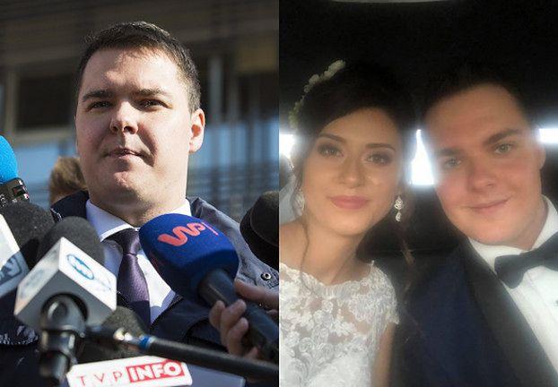 Najmłodszy poseł w Sejmie wziął ślub! Pochwalił się zdjęciem na Facebooku (FOTO)