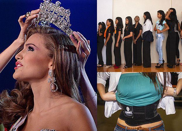 """""""Fabryka Miss"""" w Wenezueli: 16-latki WYCINAJĄ SOBIE JELITA i wszywają plastik w język!"""