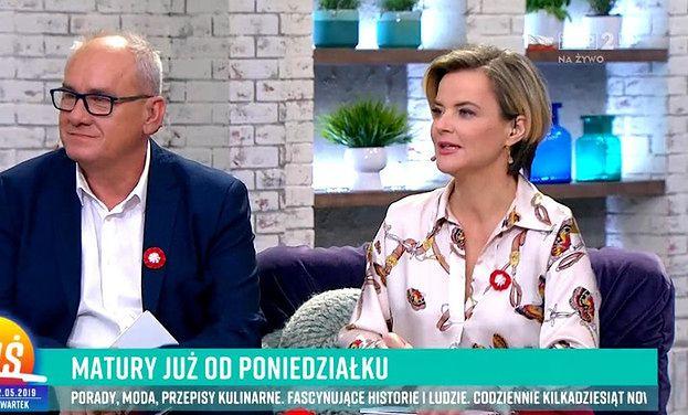"""Monika Zamachowska obraziła gości w """"PnŚ"""": """"Patrzcie, jak oni zdali maturę, to WY TEŻ ZDACIE"""""""