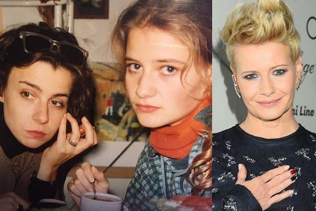 """Małgorzata Kożuchowska i Agata Kulesza razem na zdjęciu z czasów studiów. """"Nic się nie zmieniłyście!"""""""