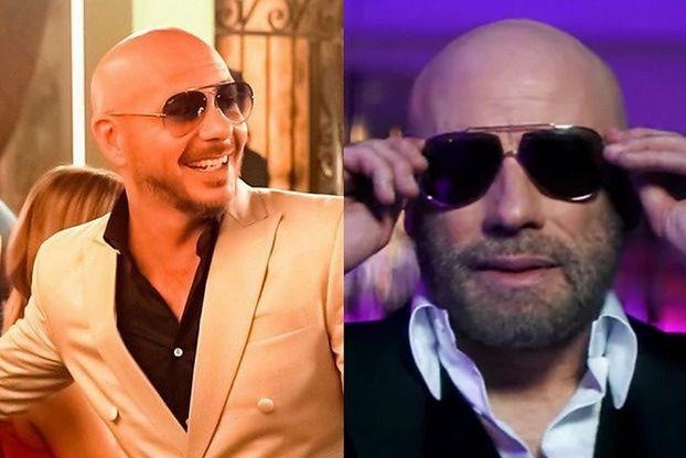 John Travolta wystąpił w teledysku... Pitbulla. Po latach ponownie wkroczył na parkiet