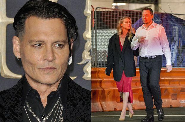 """Amber Heard zdradzała Deppa z Muskiem MIESIĄC PO ŚLUBIE?! """"Nocował w ich domu, kiedy aktor wyjeżdżał kręcić filmy"""""""