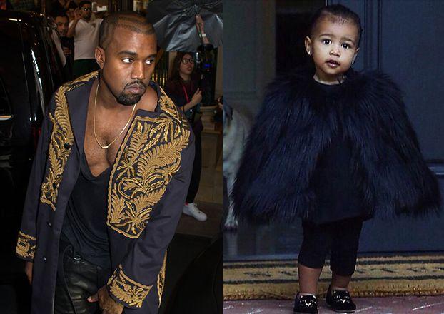 Kanye kupił córce prezenty pod choinkę: SUV-a i... DIAMENTOWY DIADEM!