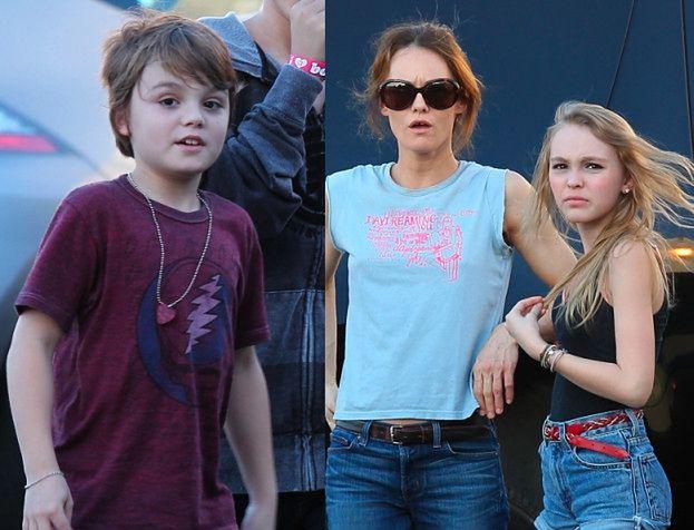 Zobacz dzieci Johnny'ego Deppa! Podobne?
