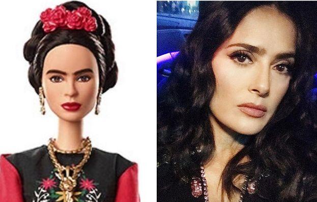 """Salma Hayek krytykuje Barbie-Fridę Kahlo. """"Jak mogli jej TO ZROBIĆ?"""""""