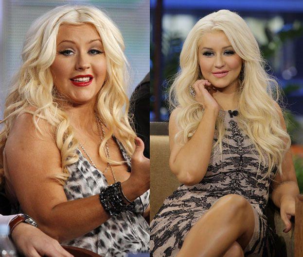 Christina Aguilera schudła! (ZDJĘCIA)