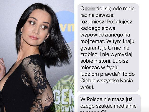 """Viola Kołakowska idzie na wojnę z Kasią Wołejnio: """"Od****dol się ode mnie raz na zawsze, rozumiesz?!"""""""