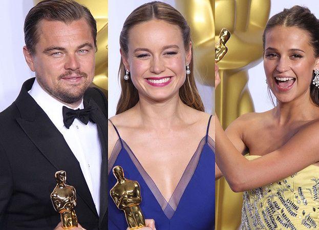 Tak cieszyli się zwycięzcy 88. gali wręczenia Oscarów! (ZDJĘCIA)