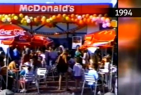 Otwarcie pierwszego McDonalda w Radomiu w 1994 roku!