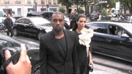 Kim i Kanye razem w Paryżu