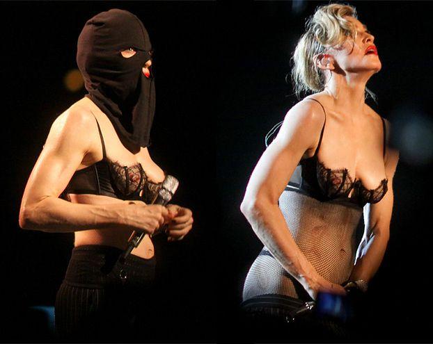 Madonna ROZBIERA SIĘ NA KONCERCIE! Wciąż seksowna?