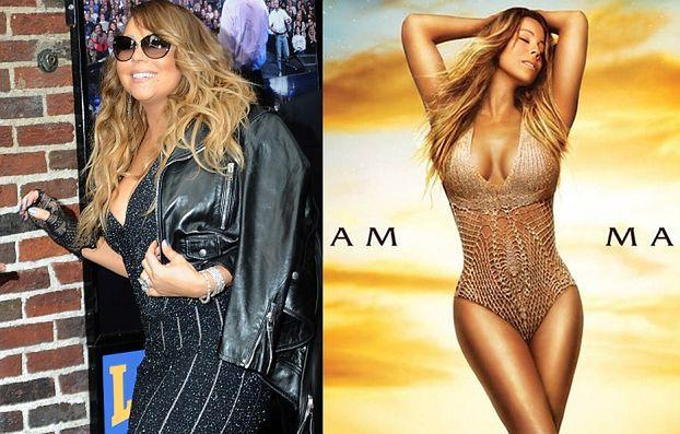 Mariah Carey: OKŁADKA vs. RZECZYWISTOŚĆ... (FOTO)