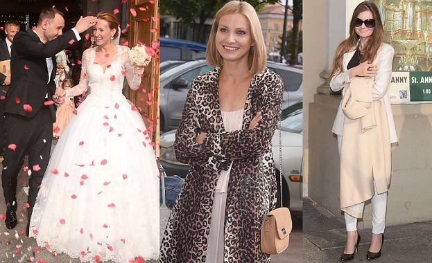 Celebrytki na ślubie Anny Gzyry! (ZDJĘCIA)