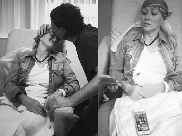 """Shannen Doherty pokazuje zdjęcia z chemioterapii: """"Rak ma wiele twarzy"""" (FOTO)"""