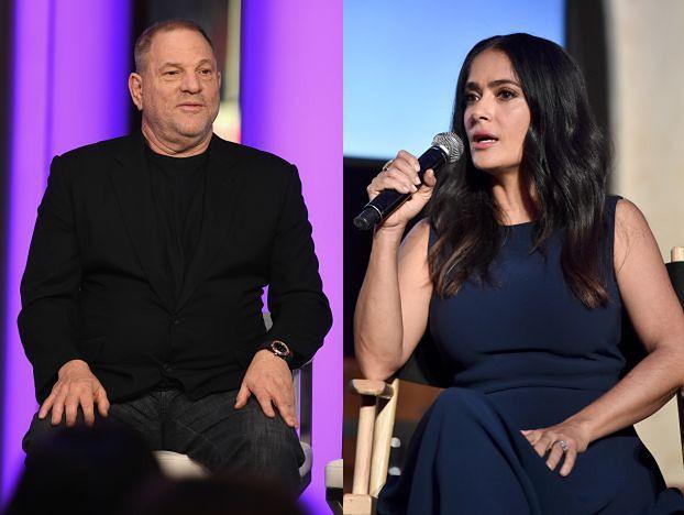 """Salma Hayek też była molestowana przez Weinsteina! """"Był moim potworem przez lata"""""""
