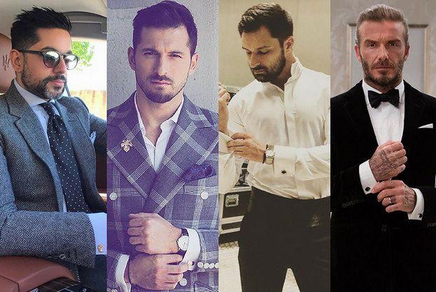 Jakie eleganckie koszule na spinki wybierają gwiazdy?