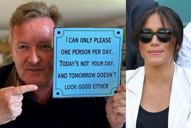 """Meghan Markle wywołała skandal na Wimbledonie. Piers Morgan komentuje: """"WRACAJ DO AMERYKI!"""""""