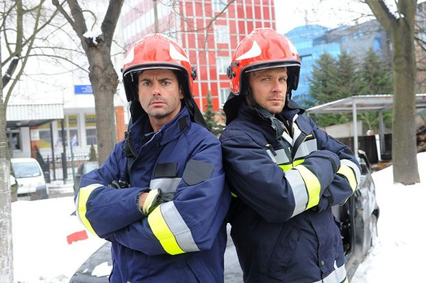 Woli&Tysio tym razem jako... strażacy (ZDJĘCIA)