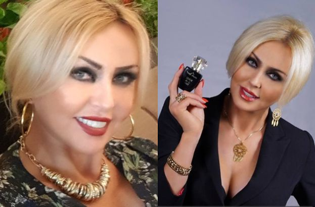 """Teresa Werner próbuje na wizji sprzedać autorskie perfumy Sławomirowi i Kajrze: """"Są nowe zapachy: """"Wojownik dnia"""" i """"Nocny kochanek"""""""""""
