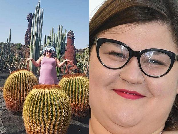Dominika Gwit w kapelutku wystaje zza kaktusa (FOTO)