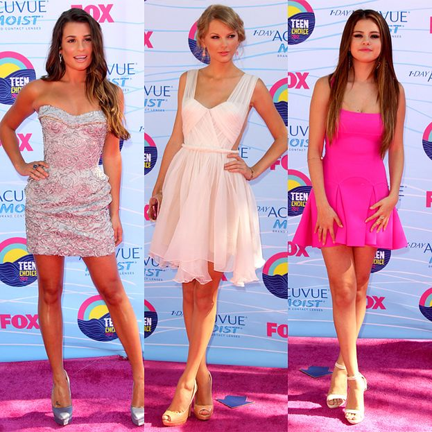Kreacje na gali Teen Choice Awards!