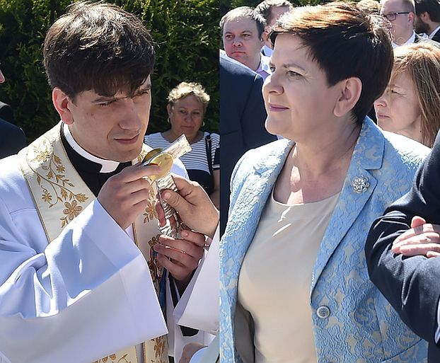 """Szydło: """"Żona premiera Węgier wzruszona zapewniła mnie o modlitwie za mojego syna. Od dziecka był ministrantem"""""""
