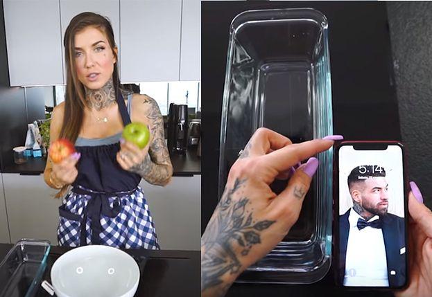 Przełom w programach kulinarnych: Deynn odmierza formę na jabłecznik... iPhonem