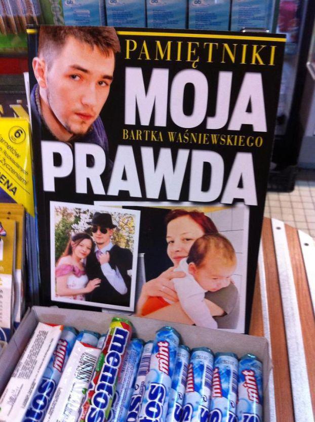 """Waśniewski WYDAŁ PAMIĘTNIK! """"MOJA PRAWDA"""""""