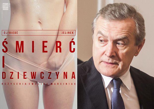 """Minister Gliński o spektaklu we Wrocławiu: """"Za pieniądze publiczne PORNOGRAFII w polskich teatrach nie będzie!"""""""