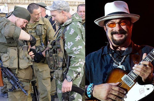 Seagal zagrał koncert dla prorosyjskich separatystów!