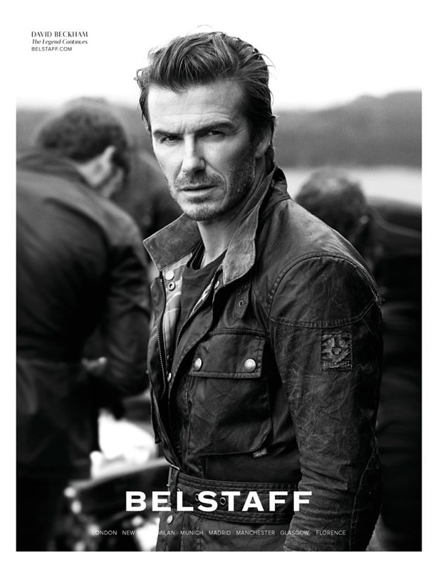 Beckham jako... harleyowiec!