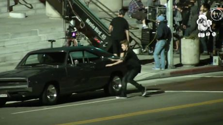 Bieber na planie nowego klipu!
