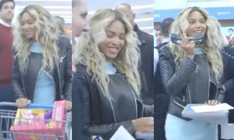 Beyonce zaskoczyła klientów supermarketu!