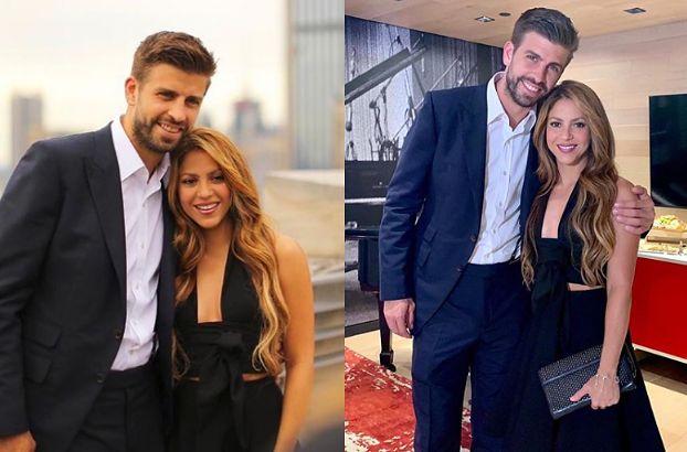 Uśmiechnięci Shakira i Gerard Pique pozują na imprezie Sony