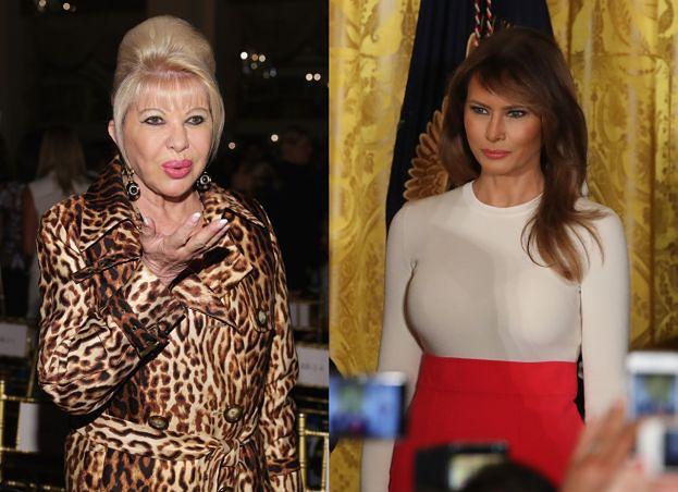 """Była żona Trumpa skromnie o sobie: """"To ja jestem pierwszą damą!"""""""