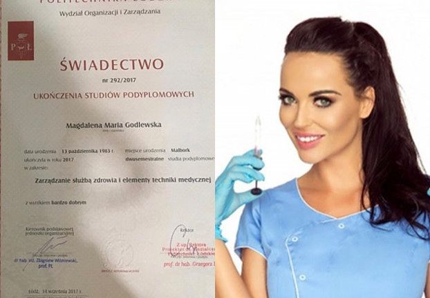 Jedna z sióstr Godlewskich pochwaliła się... dyplomem ukończenia politechniki! (FOTO)