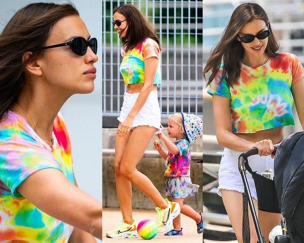 Irina Shayk cieszy się upalnym dniem w towarzystwie dwuletniej córeczki (ZDJĘCIA)