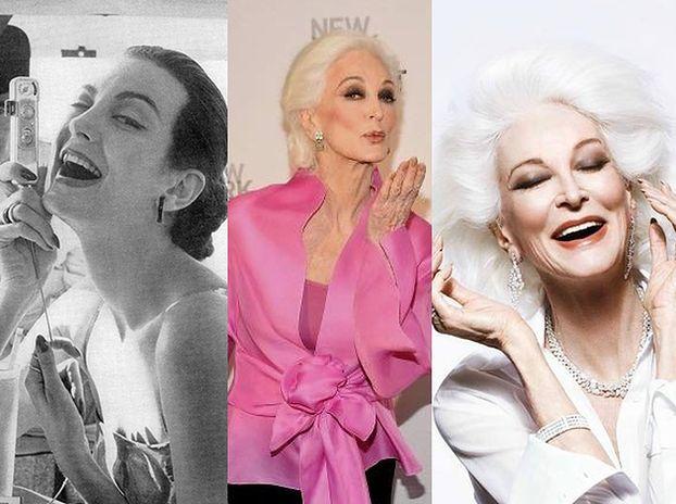 """83-letnia modelka: """"Pewnie, że WCIĄŻ UPRAWIAM SEKS! Dlaczego miałabym zrezygnować?"""""""