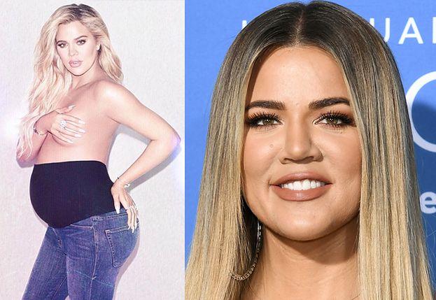 Khloe Kardashian zdradziła imię córki! To aluzja do ZDRAD TRISTANA?