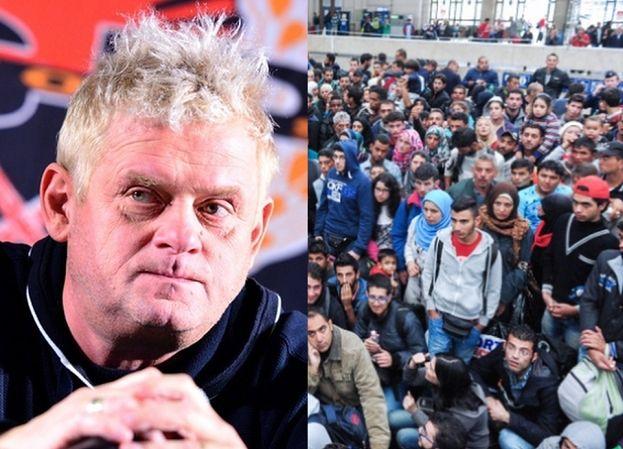 """Kazik Staszewski apeluje o przyjmowanie uchodźców do Polski: """"Powinniśmy ich przyjmować po wcześniejszej weryfikacji"""""""