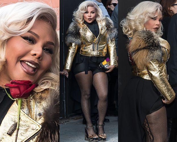 42-letnia Lil' Kim straszy w Nowym Jorku (ZDJĘCIA)